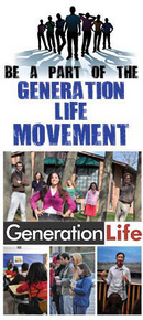 Generation Life is a movement of young people dedicated to building a culture of life and love by spreading the pro-life and chastity messages to our peers.
